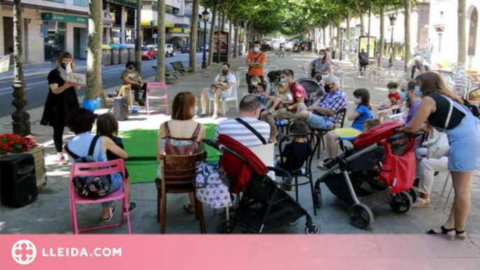 """⏯️ Veïns i comerciants de rambla Ferran reivindiquen el """"potencial"""" de la via"""