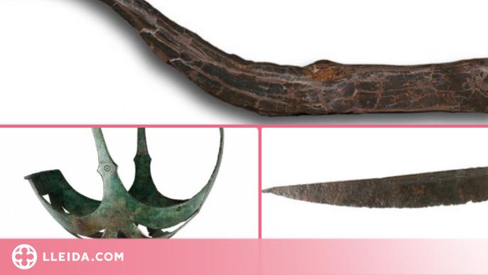 El Museu de Lleida cedeix cinc objectes per a l'exposició 'L'Enigma Iber. Arqueologia d'una civilització'