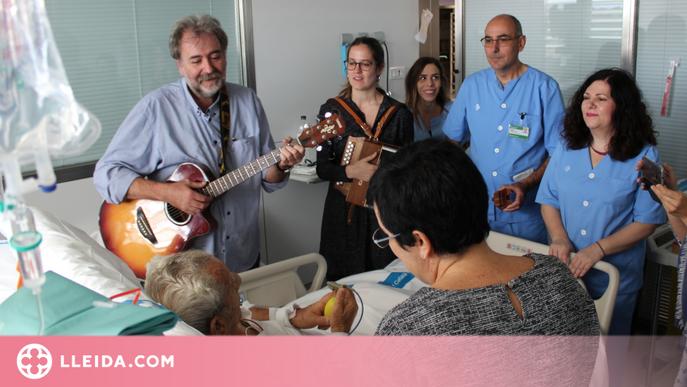 Musicoteràpia per als professionals de l'àmbit sanitari que han treballat en primera línia contra la pandèmia