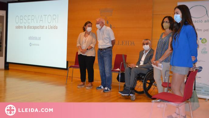 Neix l'Observatori sobre la discapacitat a Lleida