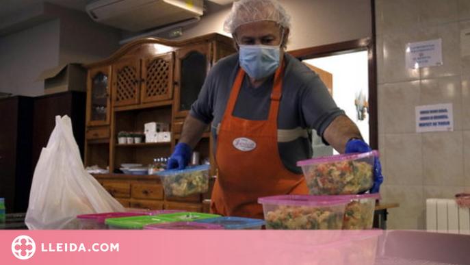 Reobre el menjador social de Lleida després d'un any tancat per la pandèmia