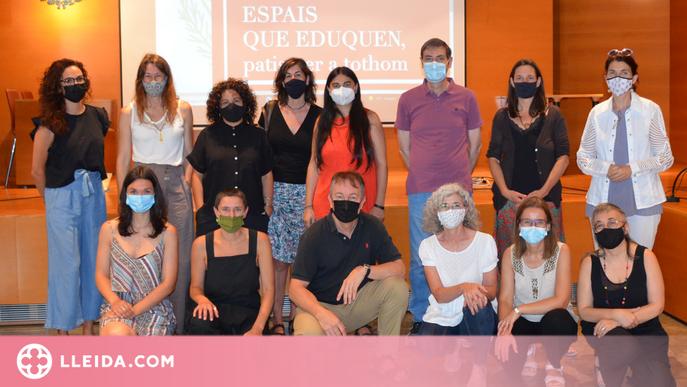 """Tres escoles de Lleida redissenyen els seus patis per convertir-los en """"espais que eduquen"""""""