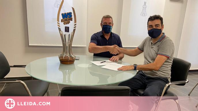 El Lleida Llista Blava i l'ajuntament de Torre-serona signen un conveni de renovació