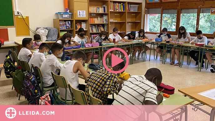 ⏯️ Uns 10.000 alumnes comencen el curs al Pirineu