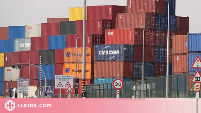 Les exportacions catalanes creixen un 14,8% al juliol