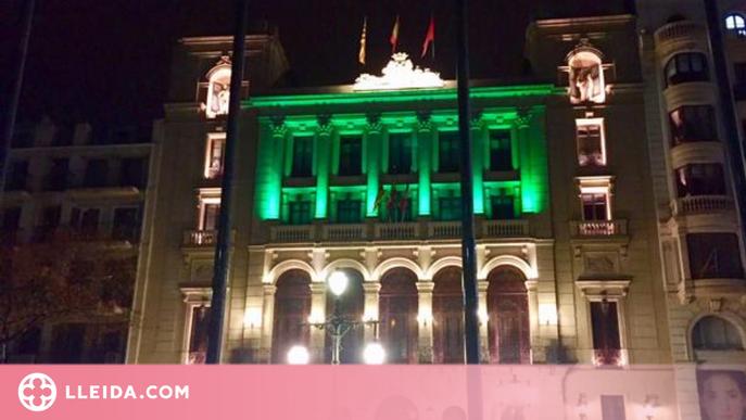 La Paeria s'il·luminarà de verd amb motiu del Dia Mundial dels Farmacèutics