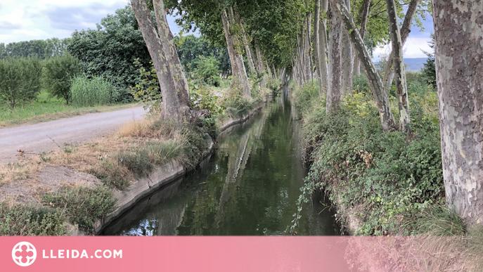 Les Borges instal·la una barrera de protecció a l'entorn del Canal d'Urgell