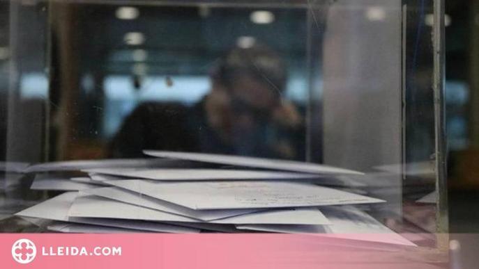 El Govern facilitarà el vot per correu per no haver de sortir de casa