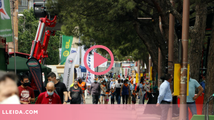 ⏯️ Mollerussa recupera la Fira de Sant Josep, ajornada per la pandèmia