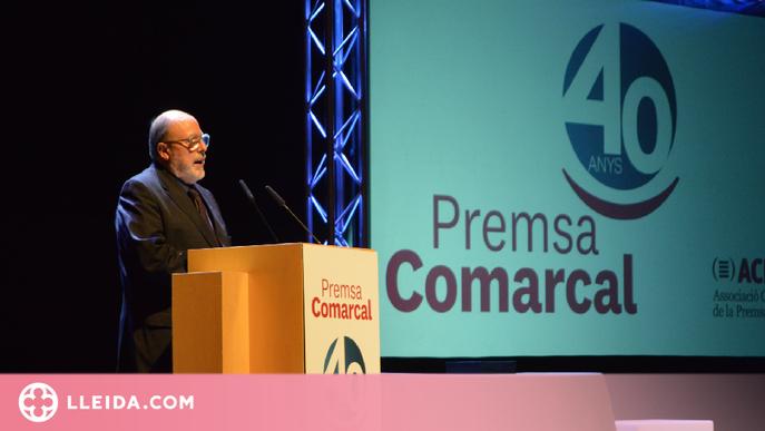 L'Associació de la Premsa Comarcal celebra el seu 40è aniversari