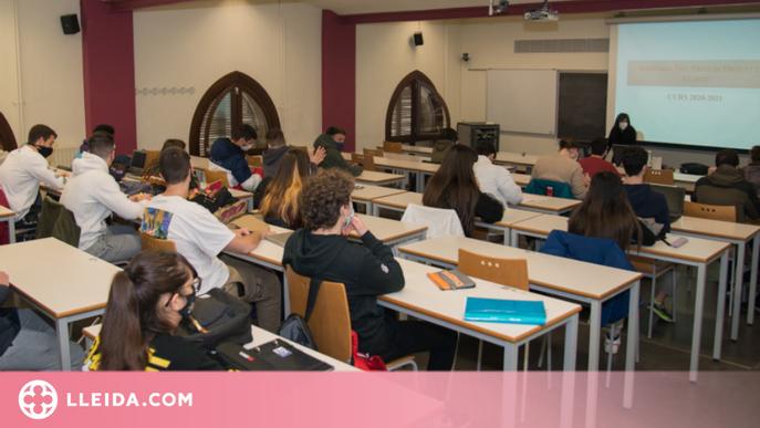 La UdL augmenta la semipresencialitat de l'alumnat a partir del 10 de març