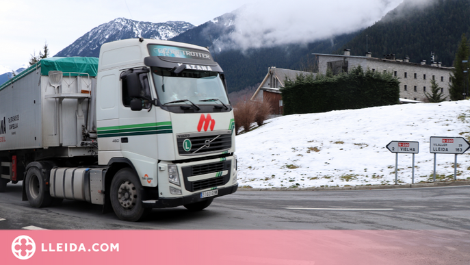 L'Aran vol tornar a limitar el pas de camions a l'N-230 durant l'hivern