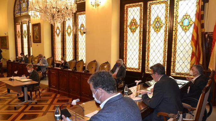 S'aprova el conveni per impulsar el desplegament de la fibra òptica al territori