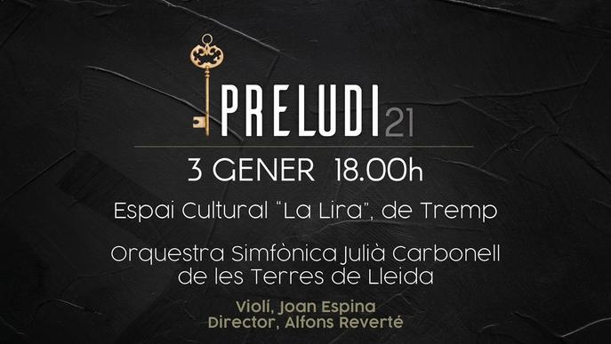 Concert per Cap d'Any de l'OJC a l'Espai 'La Lira de Tremp'