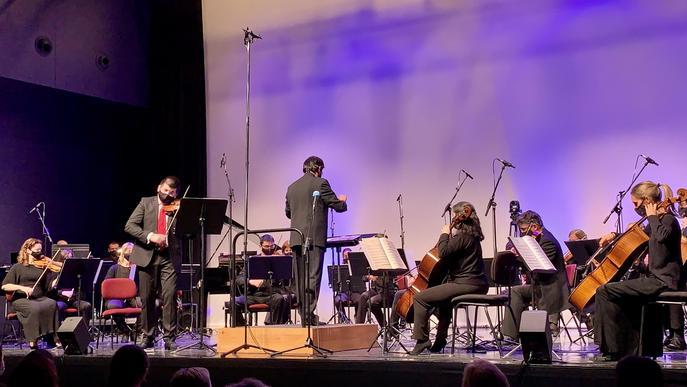 """Talarn inaugura a Tremp """"la tradició"""" d'iniciar l'any a les Terres de Lleida amb un concert de l'OJC"""