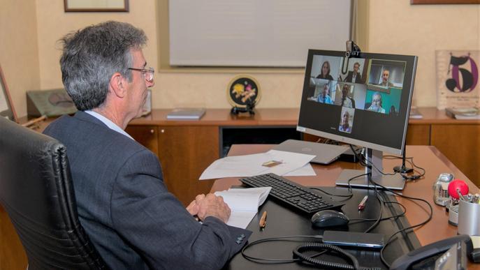 El rector de la UdL, nou president del Consorci Campus Iberus