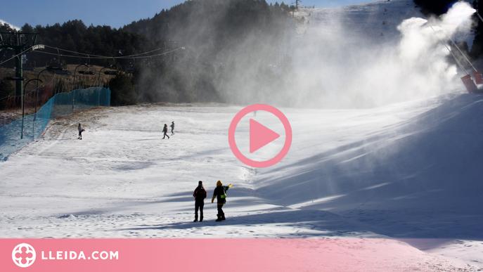 ⏯️ Candidats i candidates lleidatanes posen en valor el turisme vinculat a la neu i demanen ajudes pel sector