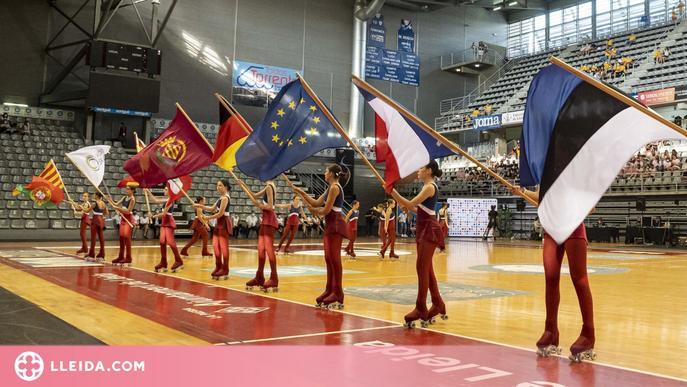 Lleida proclama a les primeres campiones d'Europa de Grups Xou de patinatge artístic