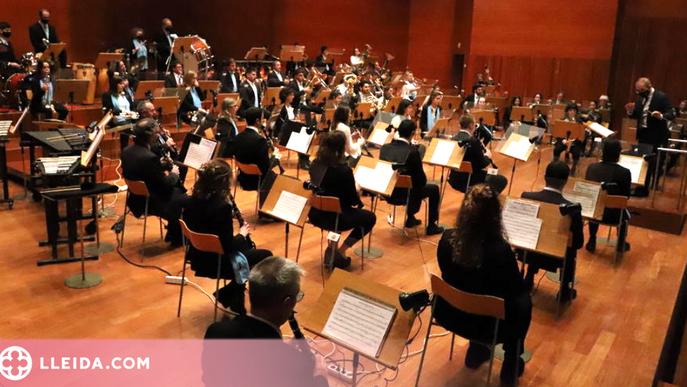 La Banda de Lleida retarda al dia 28 el seu concert a l'Auditori