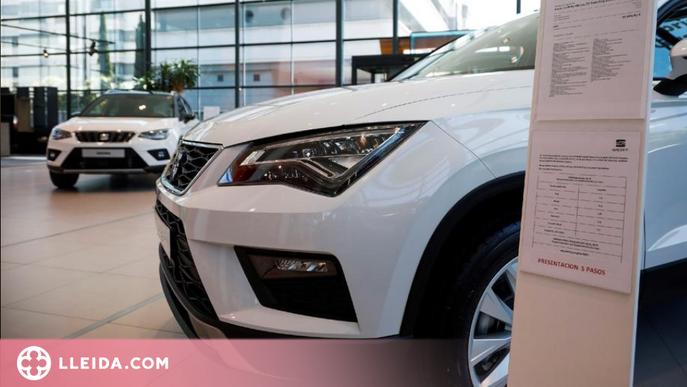 Les vendes de vehicles lleugers a Catalunya cauen un 11,9% en el primer semestre