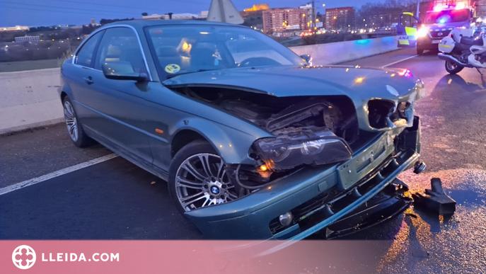 Catalunya registra menys accidents de trànsit en l'entorn de la feina que el 2019
