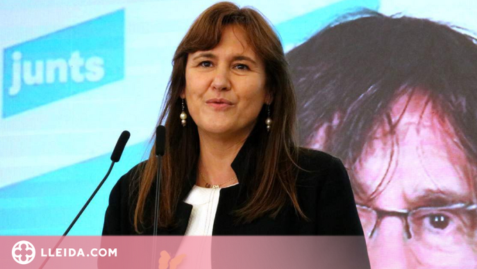 Borràs no té inconvenient perquè Aragonès sigui president