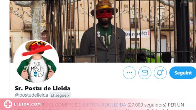 """Postureig Lleida denuncia que la suspensió del seu compte a Twitter """"fa pudor a mordassa"""""""