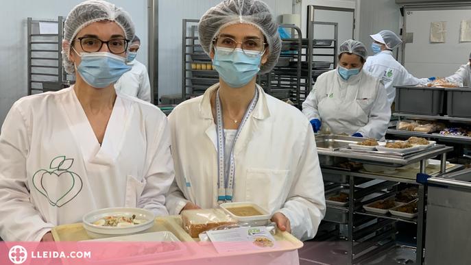 Elaboren una dieta específica per a pacients amb covid-19 ingressats a Lleida
