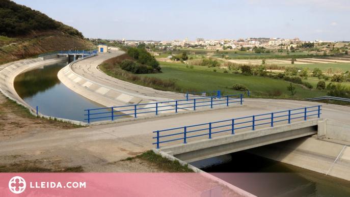 Arrenca la campanya de reg al canal Segarra-Garrigues