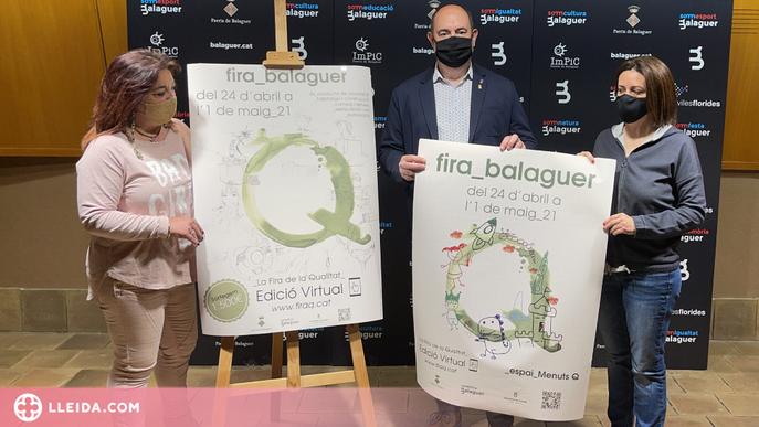 La Fira Q de Balaguer, més virtual que mai