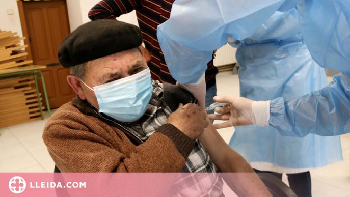 El risc de morir per covid cau un 98% a les residències amb la vacuna de Pfizer