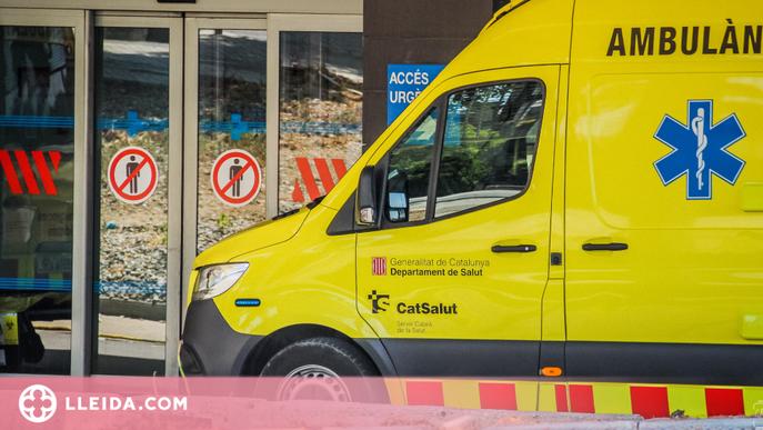 Mor un conductor en un xoc frontal amb un camió al Pla d'Urgell