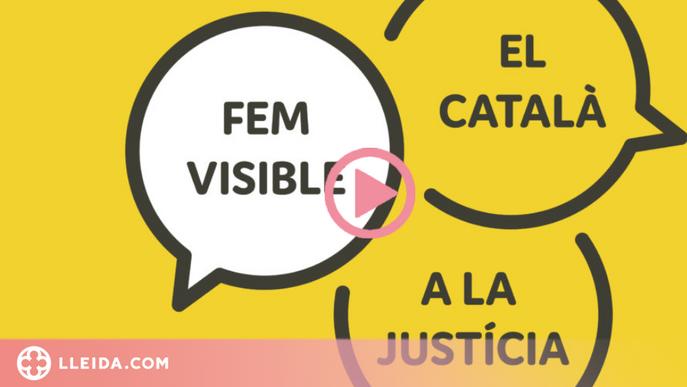 ⏯️ Prop d'un miler d'advocats aposten pel foment del català a la justícia gratuïta