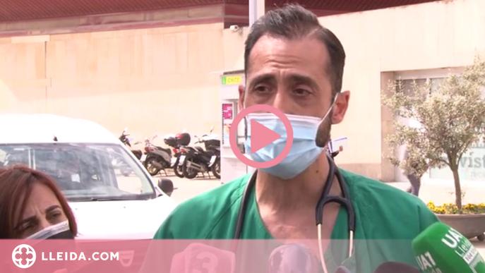 ⏯️ L'Arnau de Vilanova alerta hi ha el doble de pacients covid que en l'últim desconfinament