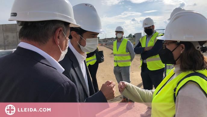 ⏯️ Comença la construcció d'una depuradora a Artesa de Lleida
