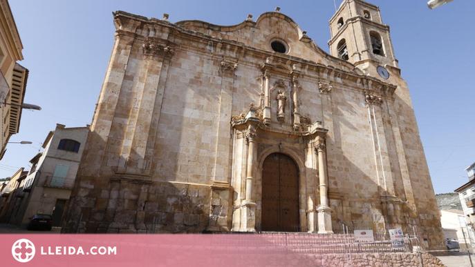 El Bisbat de Lleida autoritza l'inici de la rehabilitació de l'església d'Algerri