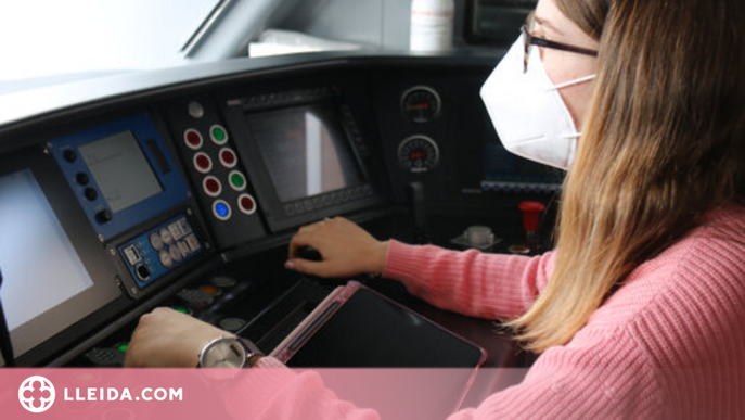 ⏯️ Només el 10% dels maquinistes a Rodalies són dones, però creix l'interès femení per la professió