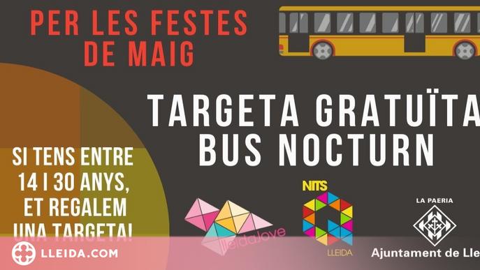 Targetes de bus gratuïtes a joves durant la Festa Major de Lleida