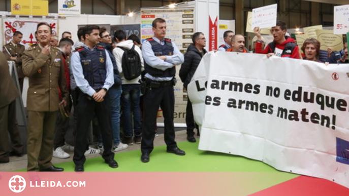 Fira de Lleida admet les forces armades a FormaOcupa