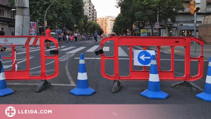 Lleida tallarà 4 carrers durant la festa major per facilitar la instal·lació de vetlladors a bars i restaurants