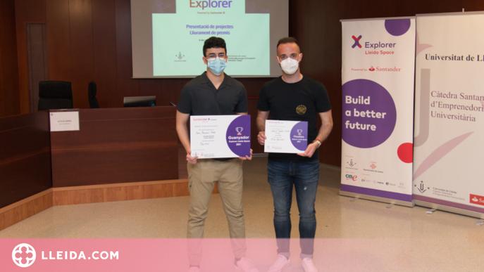 Una aplicació web per monitoritzar dades en temps real guanya l'Explorer Lleida