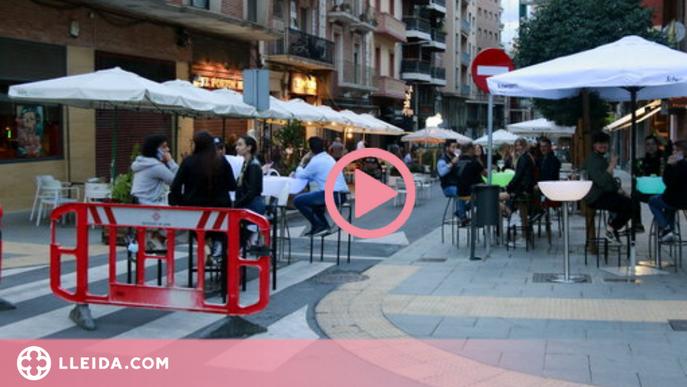 ⏯️ Ambient de Festa Major a Lleida en la primera nit d'obertura de l'hostaleria
