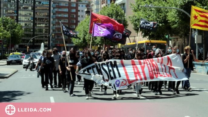 ⏯️ Manfiestació d'estudiants a Lleida en defensa d'una educació pública