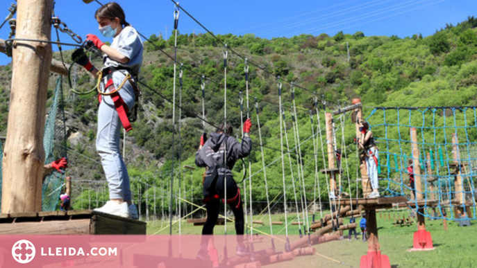 ⏯️ El Pallars Sobirà rep els primers grups d'escolars per fer activitats de natura des de l'inici de la pandèmia