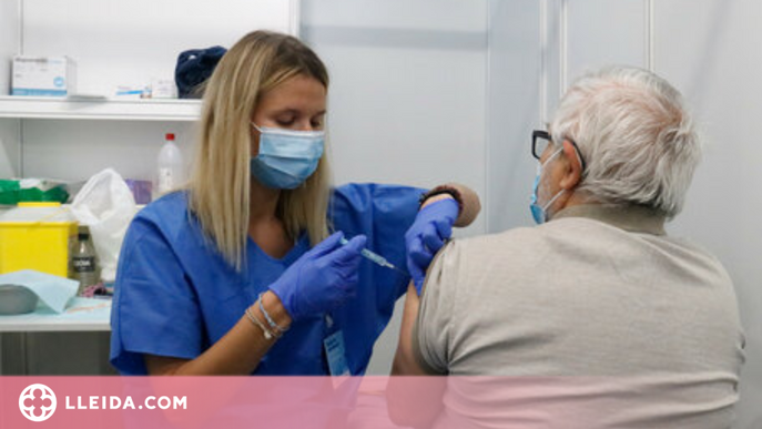 Tres de cada deu catalans tenen la primera dosi de la vacuna contra la covid-19
