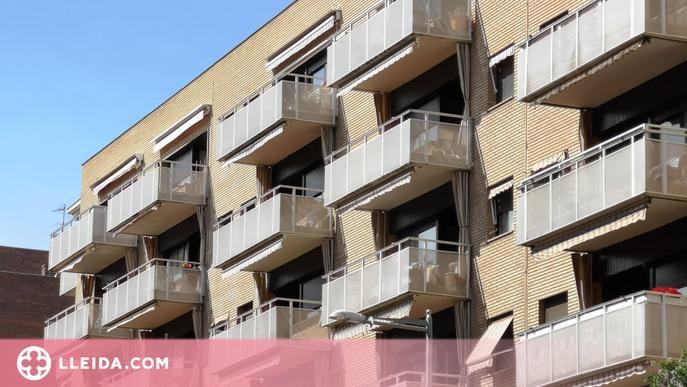 La compravenda d'habitatges creix al maig