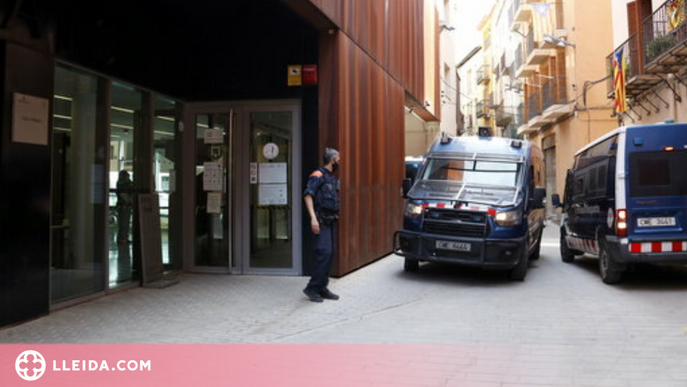 ⏯️ Passen a disposició judicial els 16 detinguts a Lleida i Balaguer per tràfic de drogues