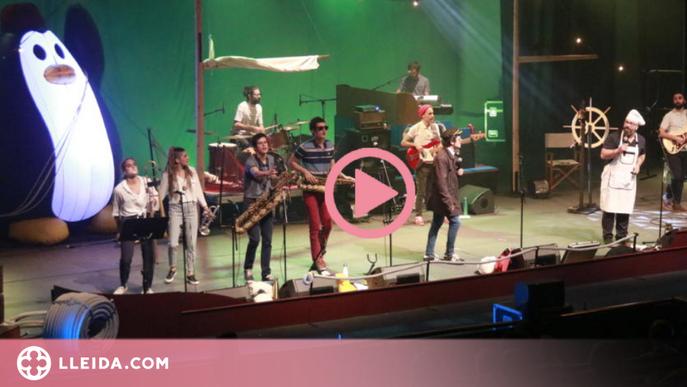 ⏯️ Reggae per Xics estrena a Cervera 'Quadern de Bitàcola' fent un viatge per alta mar