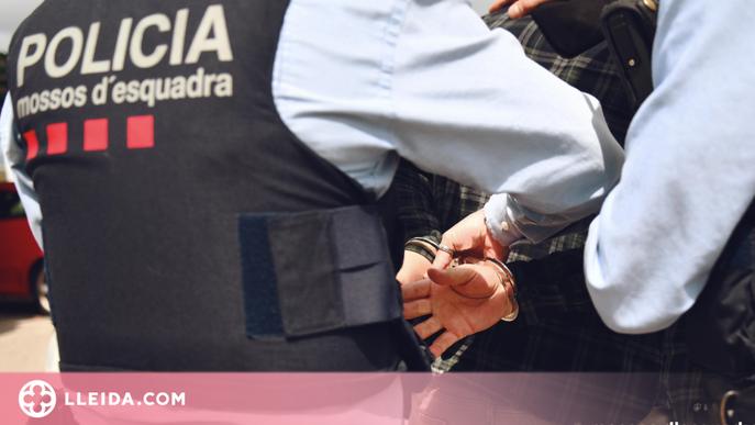 Detingut un jove per agredir greument un conductor durant una discussió a Torregrossa
