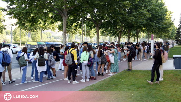 ⏯️ Comença la selectivitat a Lleida, amb més alumnes i menys aules